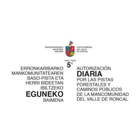 ENTRADA-SARRERA-5€c